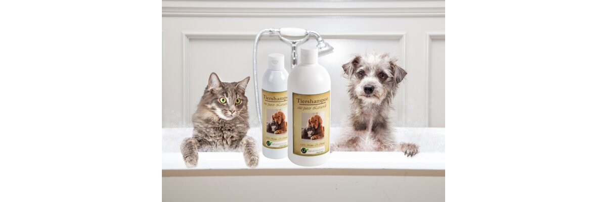 Innovation: Das erste Tiershampoo ohne Seife und Chemie - auf Basis von Lavaerde - Innovation: Das erste Tiershampoo ohne Seife und Chemie - auf Basis von Lavaerde