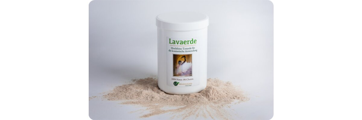 NEU: Hellbraune, hochfeine Lavaerde für kosmetische Anwendungen - NEU: Hellbraune, hochfeine Lavaerde für kosmetische Anwendungen