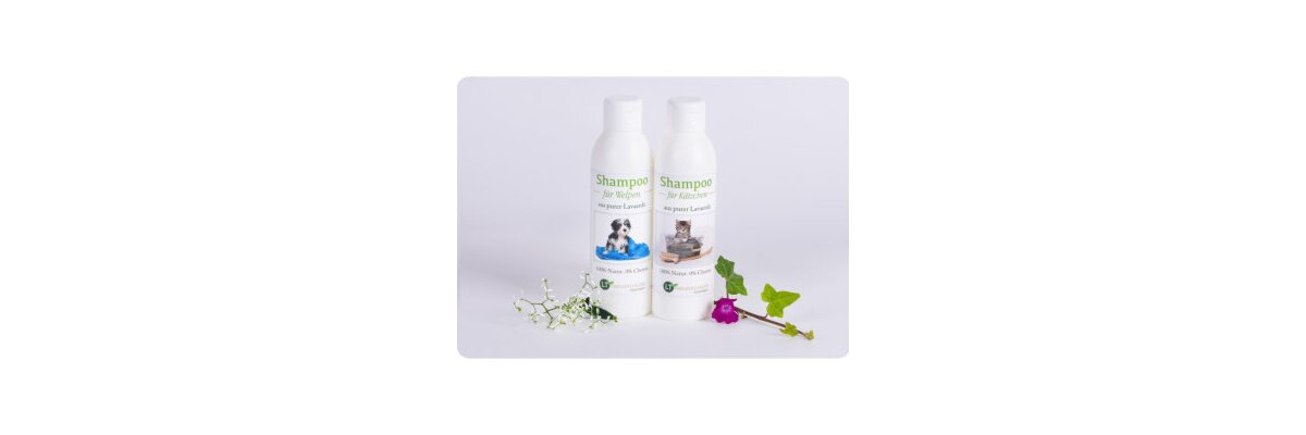 Sanfte Pflege für kleine Vierbeiner - chemiefrei - Sanfte Pflege für die Welpen und Kätzchen - chemiefrei