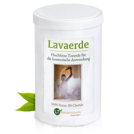 Lavaerde/Ghassoul | hochfeines, hellbraunes Pulver für die kosmetische Anwendung |  Original aus Marokko | 800g | vegan | gegen unreine Haut, Akne, Mitesser, etc.