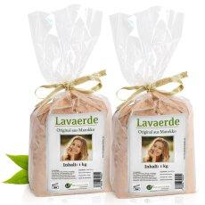 Lavaerde/Ghassoul | Original aus Marokko | 2 kg | feines...