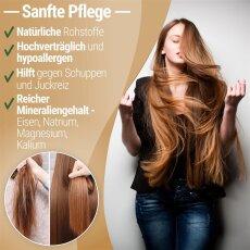 Lavaerde/Ghassoul | Original aus Marokko | 2 kg | feines braunes Pulver zur chemiefreien Haarwäsche, Körperpflege & Peeling | vegan | Anti Schuppen