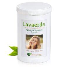 Lavaerde/Ghassoul | Original aus Marokko | 1 kg | feines braunes Pulver zur chemiefreien Haarwäsche, Körperpflege & Peeling | vegan | Anti Schuppen