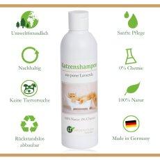 Katzenshampoo | Bio | sanfte Fellpflege ohne Chemie &...