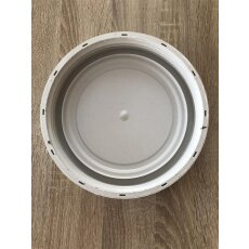 Tonne, Plastik (PET) | 40l Volumen | mit 2 Haltegriffen |  für Vorräte, Tierfutter, Camping, etc.