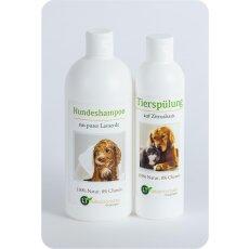 Pflegeset für Hunde | MAXI Sparpaket mit Shampoo...