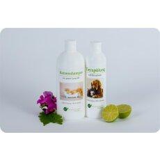 Pflegeset für Katzen | MAXI Sparset mit Shampoo...