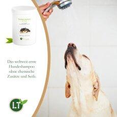 Trockenshampoo für Hunde - mit original marokkanischer Lavaerde   Vegan und Bio   zur chemiefreien Fellpflege   1 kg
