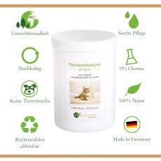 Trockenshampoo für Katzen - mit original marokkanischer Lavaerde   Vegan und Bio   zur chemiefreien Fellpflege   1 kg