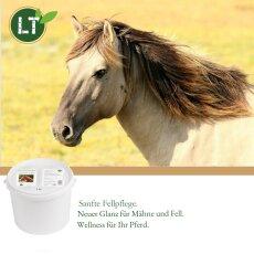 Trockenshampoo für Pferde - mit original marokkanischer Lavaerde | Vegan und Bio | Vorratspaket | 5 kg