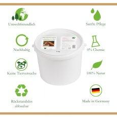 Trockenshampoo für Pferde - mit original marokkanischer Lavaerde   Vegan und Bio   Vorratspaket   5 kg