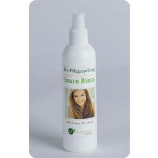 Conditioner Bio | Saure Rinse | chemiefreie Pflegespülung mit Zitrusduft | tensidfrei | silikonfrei | vegan | 250 ml mit Zerstäuber