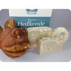 Peelingseife Schrubbeline | mit Rügener Heilkreide...