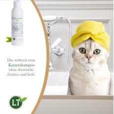 Katzenshampoo WHITE | Bio | sanfte Pflege für...