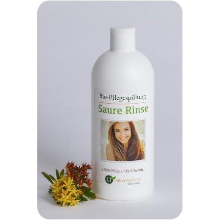 Conditioner Bio   Saure Rinse   chemiefreie Pflegespülung mit Zitrusduft   tensidfrei   silikonfrei   vegan   500 ml   Sauerrinse   Sauerspülung   Naturspülung   Essigrinse