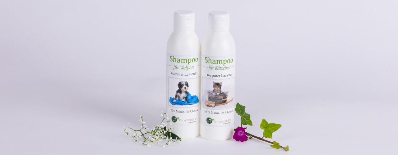NEU: Shampoos für Welpen und Kätzchen